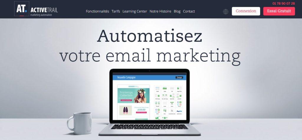 Facilitez-vous vos campagnes d'e-mailing avec ActiveTrail - Agence de Marketing digital Paris