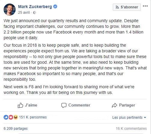 Mort de Facebook ? Agence de Marketing Digital Paris